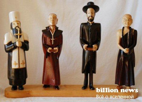 Десятка самых странных религий