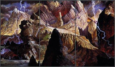 Абстрактные картины Яцек Йерка (Jacek Yerka) (20 фото)