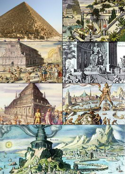 картинках в для детей света чудес семь