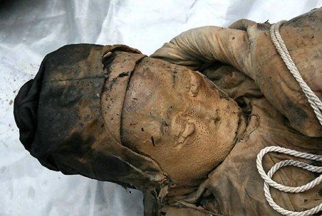 В Китае нашли мумию
