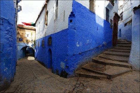 Шефшауэн - город синего цвета