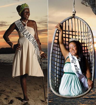 18 самых необычных конкурсов красоты (45 фото)