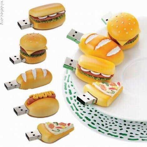 Самые нестандартные USB - флэшки в мире (103 фото)