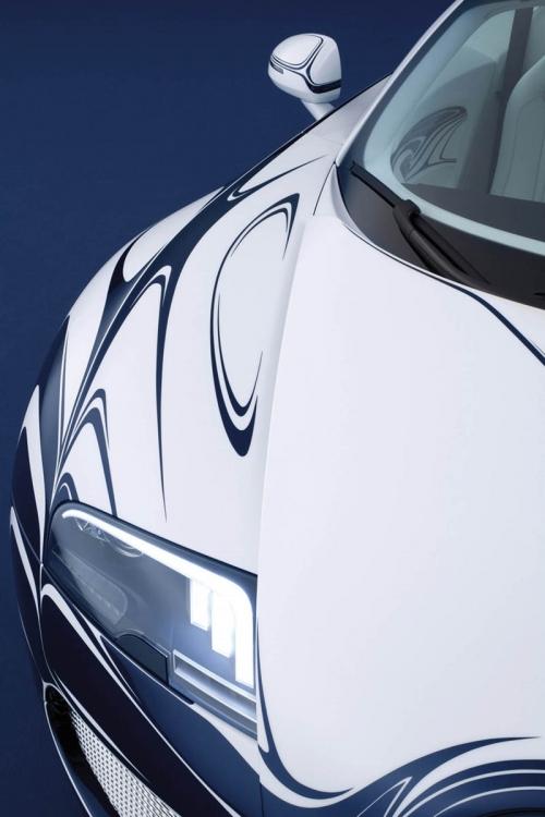 Авто - факт: уникальный фарфоровый Bugatti Veyron - единственный в мире