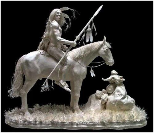 Бумажные скульптуры Аллена и Пэтти Экман (9 фото)