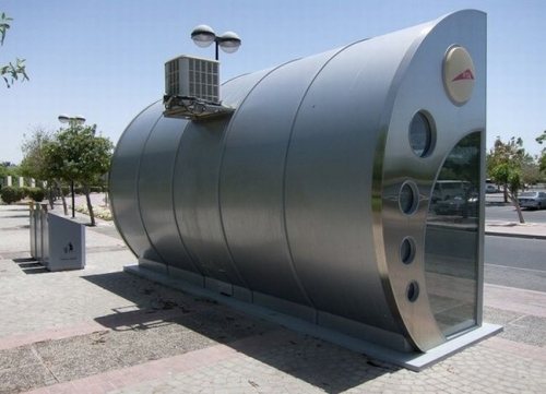 В Дубае установлены 126 остановок с кондиционерами