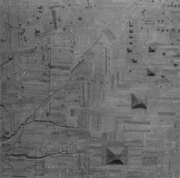 «Город пирамид» производит