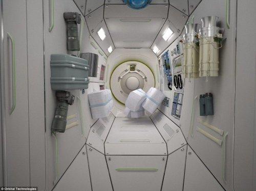 Космический отель (5 фото)