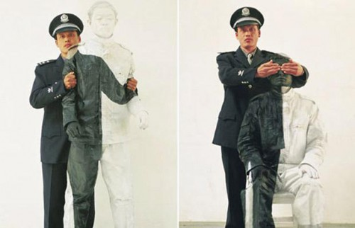 Лиу Болин - человек-невидимка (12 фото)