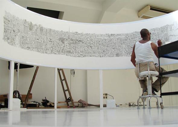 Картины художника, рисующего свои произведения по памяти (21 фото)