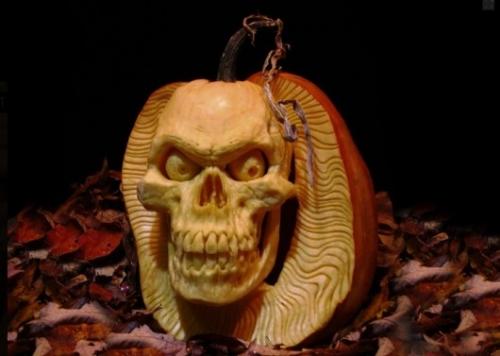 Фантастические тыквы на Halloween от Ray Villafane (10 фото)