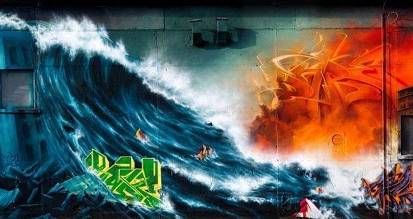 Граффити от Mad C (19 фото)