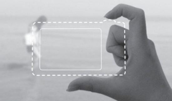Концепция Air Clicker - фотографируем пальцами (2 фото)