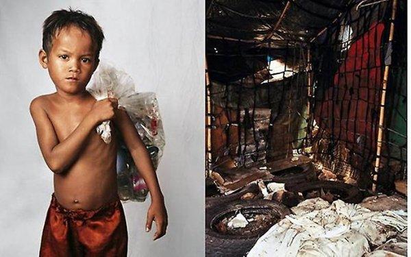 Дети из разных уголков мира и их спальни (11 фото)