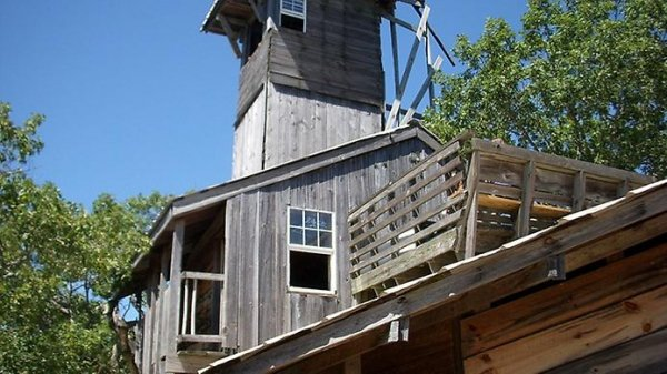 Самый большой дом на дереве (7 фото)