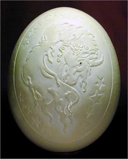Скульптуры из яичной скорлупы от Гарри ЛеМастера (Gary LeMaster)