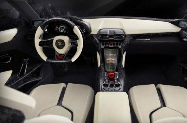 Внедорожник от Lamborghini (8 фото)