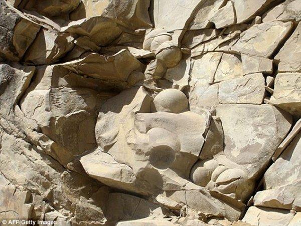 Геологи Чечни обнаружили древние яйца динозавров (2 фото)