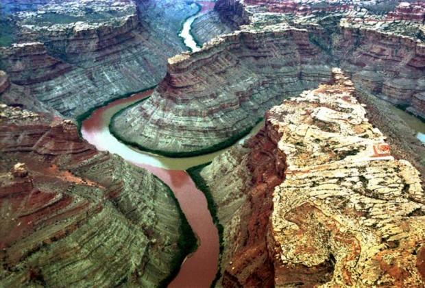Самых эффектных слияний рек