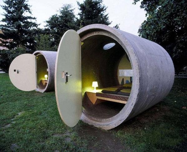 Необычные спальные комнаты в Австрии (4 фото)