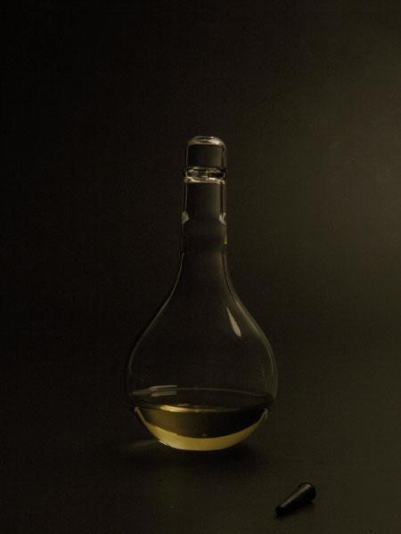 Лампа, которая работает от крови человека