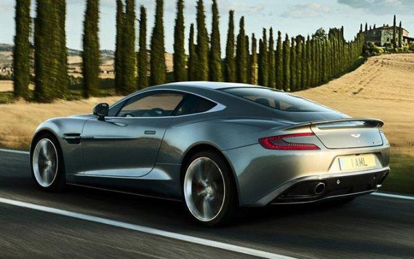 Новый Aston Martin Vanquish (10 фото)
