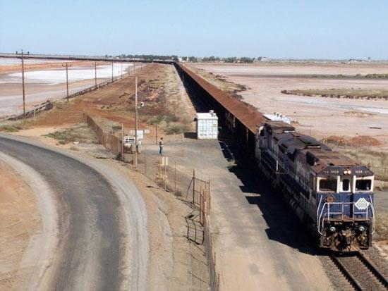 Протяжённость самого длинного железнодорожного состава в мире — 7,3 км
