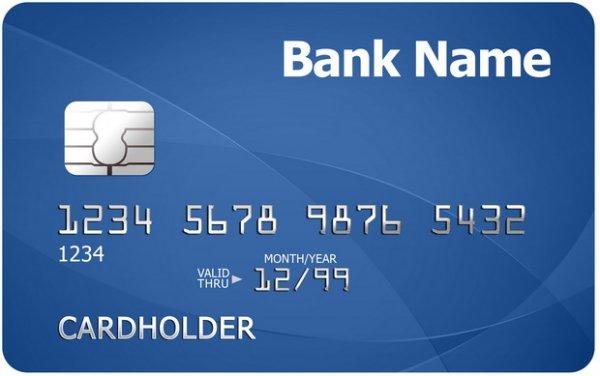 Что означают цифры на банковской карточке?