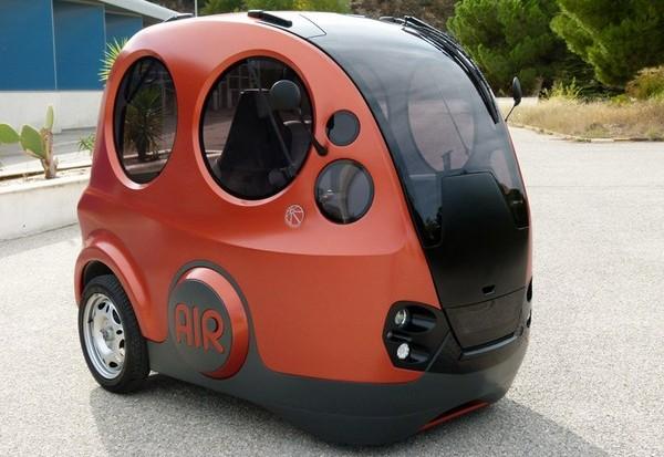 О необычных городских автомобилях