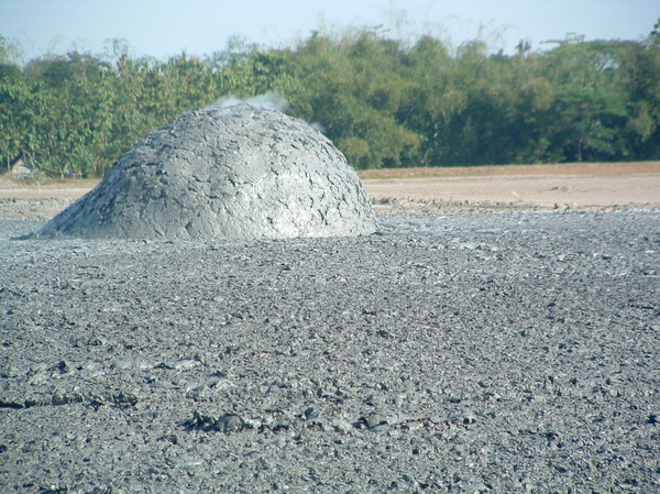Bledug Kuwu - Грязевой взрыв
