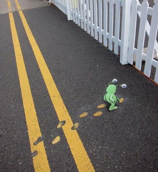 Слагго, который живет на тротуаре