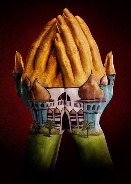 Невероятные ручные картины Рэя Мэсси