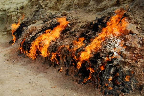 Янардаг – огненная гора
