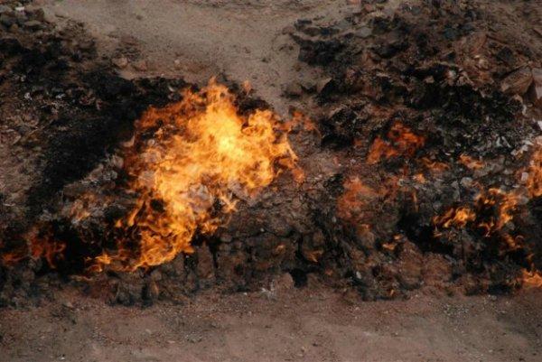 Огненная гора Янардаг (8 фото)