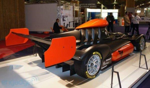 Водородный автомобиль на гонке в Ле-Мане (5 фото)