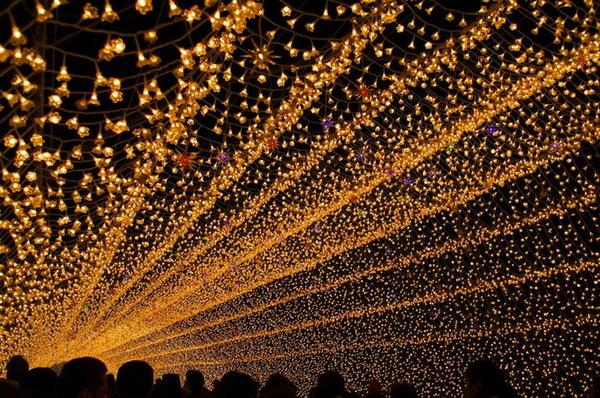"""Инсталляция """"Зимнее освещение"""" в Японии (17 фото)"""