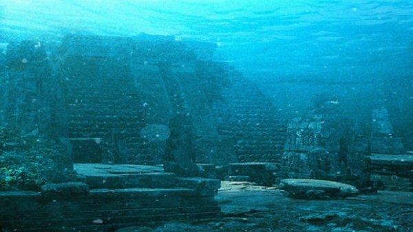 На дне Бермудского треугольника нашли затонувший город (5 фото + видео)