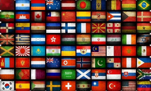 10 необычных и уникальных флагов (9 фото)