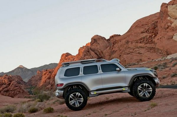 Mercedes-Benz Ener-G-Force (7 фото)