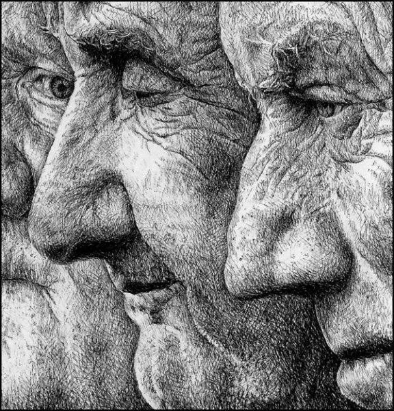 Живые рисунки от Хейкки Лейса (Heikki Leis) (13 фото)