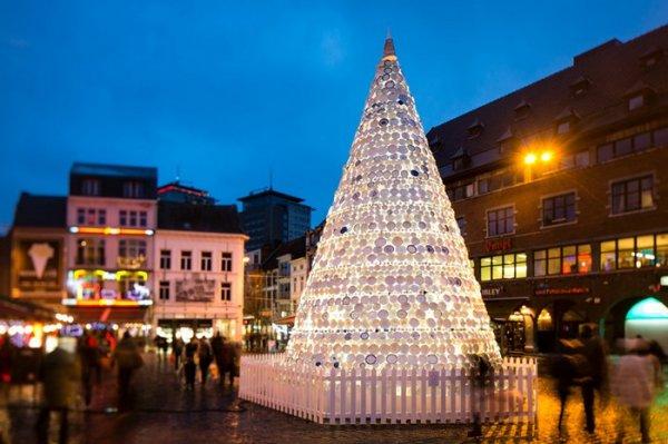 Бельгийская елка из керамики (5 фото)