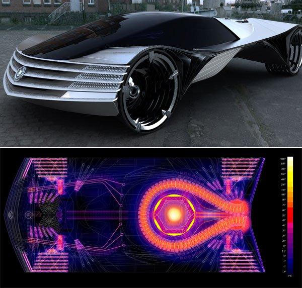 Первый автомобиль с ядерным двигателем