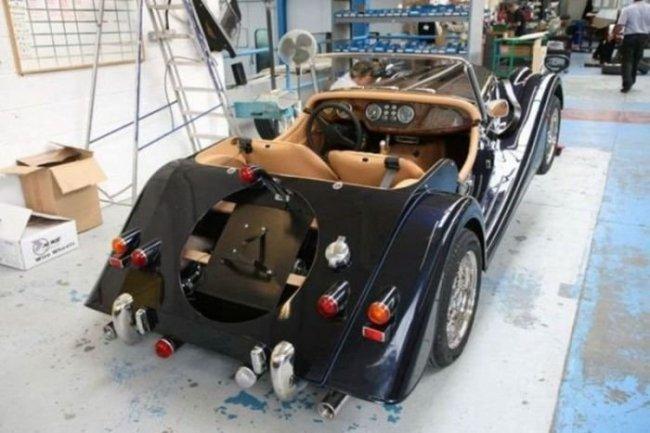 Автомобили, собранные вручную от Morgan Motor Company (21 фото)