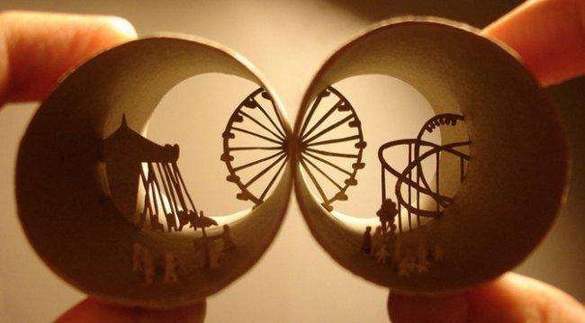 Искусство скульптур из туалетной бумаги (20 фото)