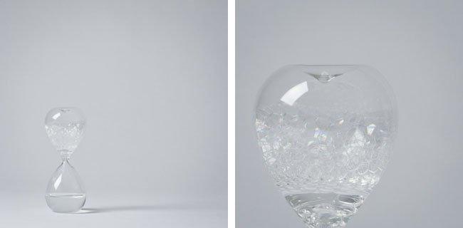Песочные часы, наполненные пузырьками (7 фото + видео)
