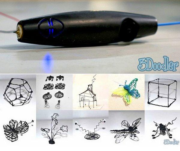 3D карандаш (5 фото + видео)