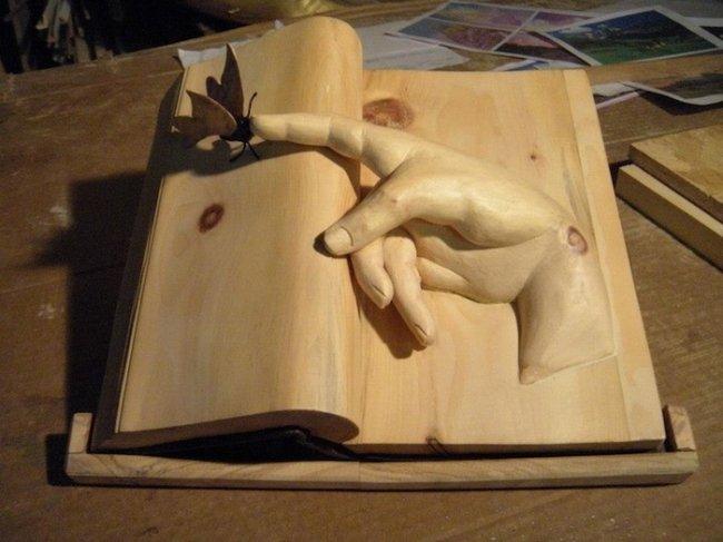 Книжные скульптуры от Нино Орланди (Nino Orlandi) (6 фото)