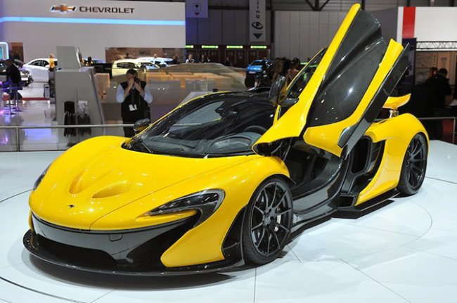 Новый суперкар McLaren P1 (17 фото)