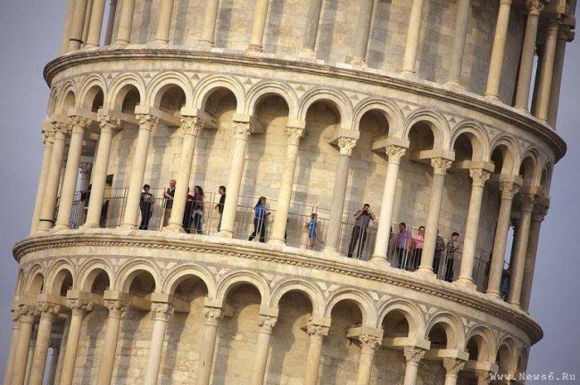 Интересные факты о Пизанской башне (6 фото)
