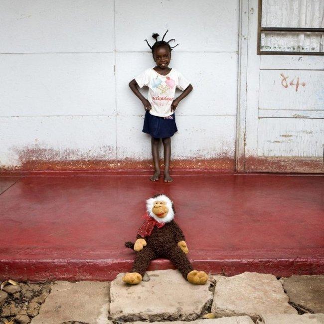 Девочка из Ботсваны